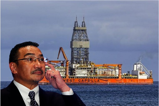 Hishammuddin Hussein - West Capella Standoff - South China Sea Intrusion