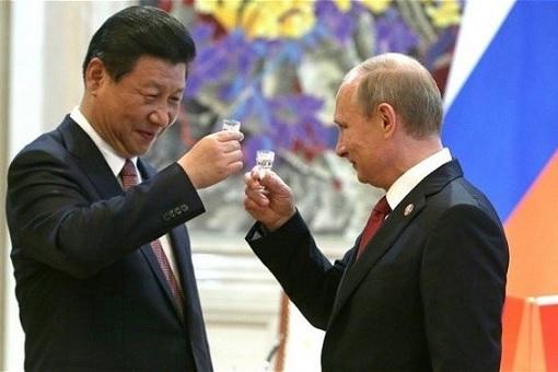 President Xi Jinping and President Vladimir Putin - Toast
