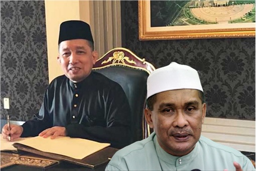 Attorney General Idrus Harun and Law Minister Takiyuddin Hassan