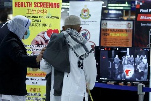 Coronavirus Health Screening - KLIA Kuala Lumpur International Airport