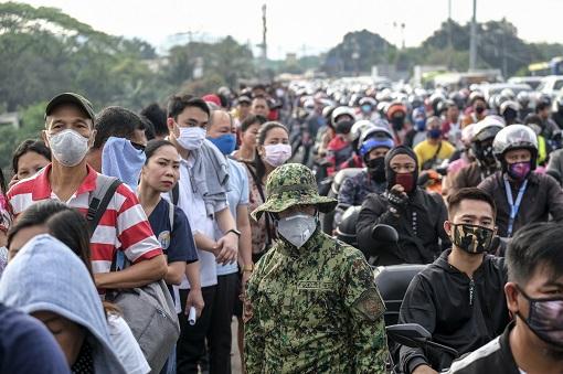 Coronavirus - Philippines Infection Spread