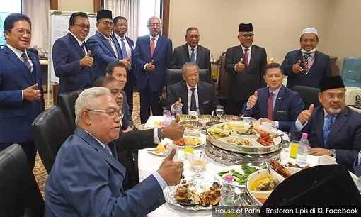 Muhyiddin and Gang of Crooks - House of Patin - Restaurant Lipis 3