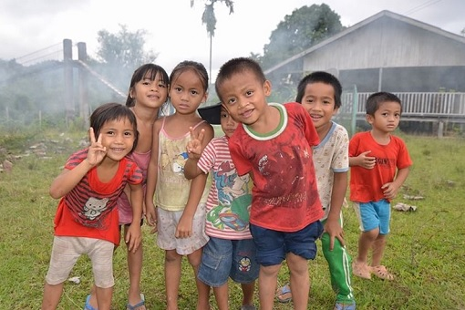 Sabah Villagers - Children