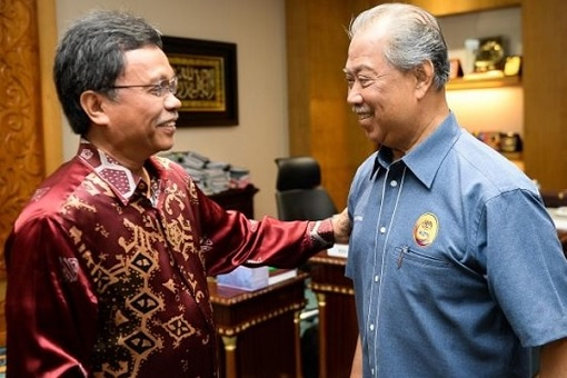 Friends - Shafie Apdal and Muhyiddin Yassin