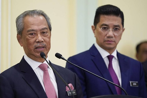 Muhyiddin Yassin and Azmin Ali - Run Out Of Cards To Play
