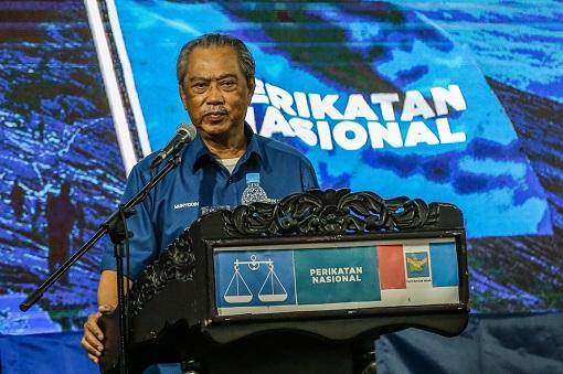 Sabah Election - Perikatan Nasional - Muhyiddin Yassin