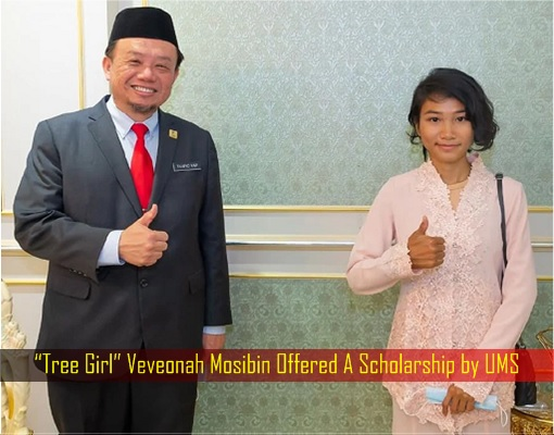 Tree Girl Veveonah Mosibin Offered A Scholarship by UMS
