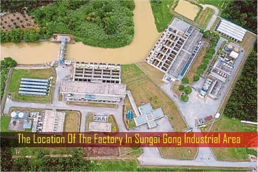 Water Pollution - The Location Of The Factory In Sungai Gong Industrial Area