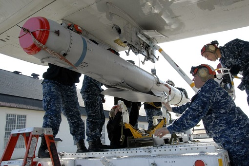 Boeing AGM-84H Standoff Land Attack Missile Expanded Response - SLAM-ER Missiles