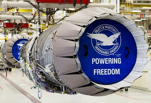Raytheon Pratt-Whitney Jet Engines