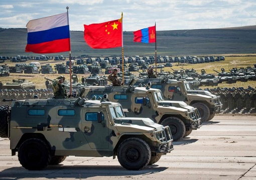 Russia-China Military Alliance