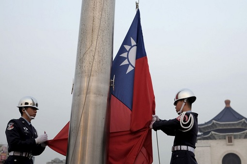 Taiwan Flag Unleashing