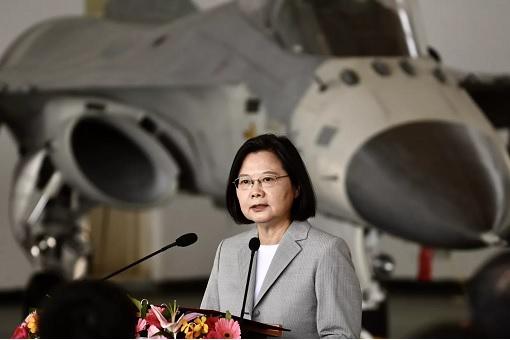 Taiwan President Tsai Ing-Wen - Fighter Jets