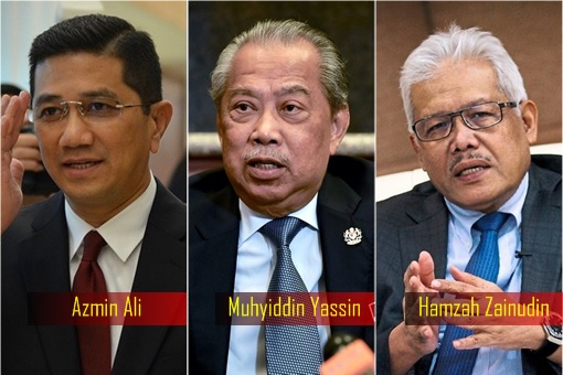 Traitors - Azmin Ali, Muhyiddin Yassin and Hamzah Zainudin
