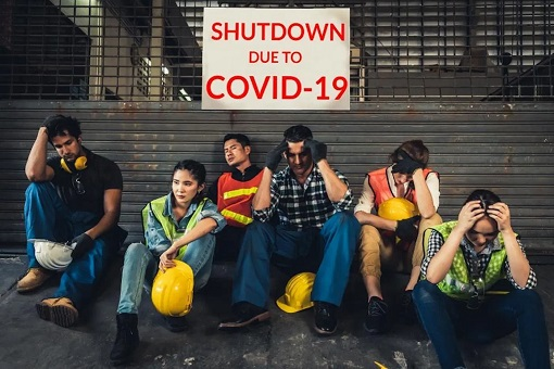 Unemployment - Shutdown Due To Covid-19 Coronavirus