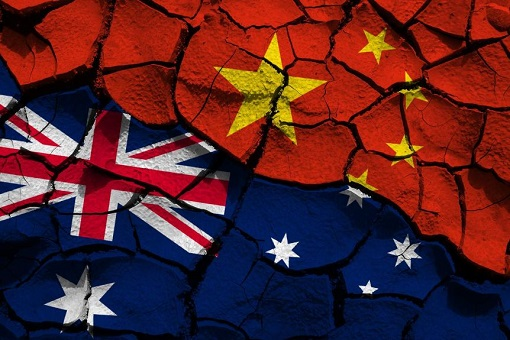 China-Australia - Cracked Strained Relations