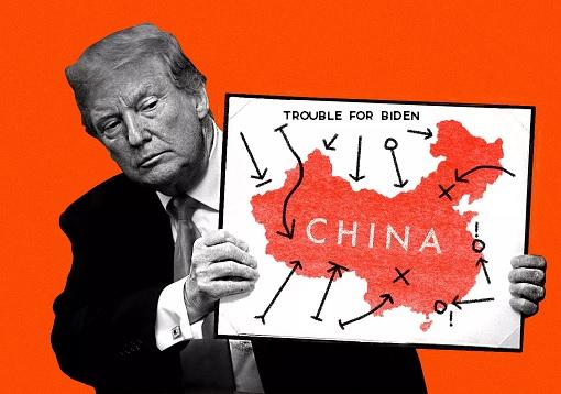 President Donald Trump - Creates Trouble in China For President-Elect Joe Biden