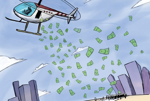 Printing Money - Helicopter Money