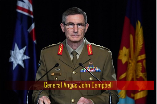 Australia General Angus John Campbell