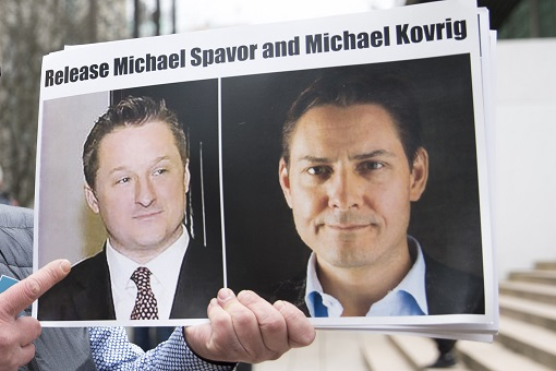Canadians Detained By China - Michael Kovrig and Michael Spavor
