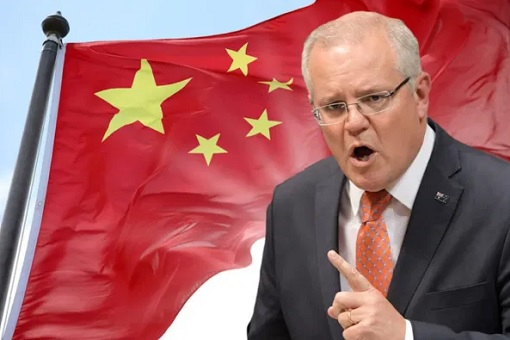 China-Australia Diplomatic Dispute - Prime Minister Scott Morrison