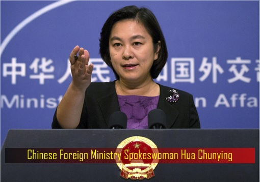 China Foreign Ministry Spokeswoman Hua Chunying