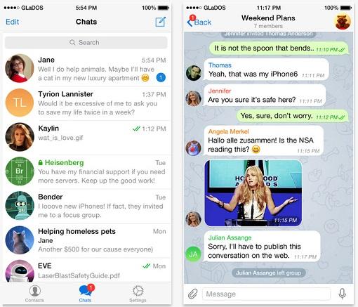 Telegram Messenger Chat
