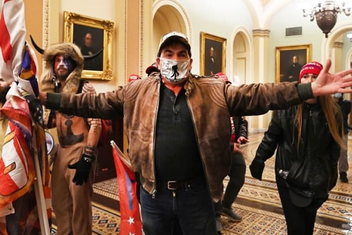 US Capitol Riot Photo - Trump Supporters Gain Access the US Capitol
