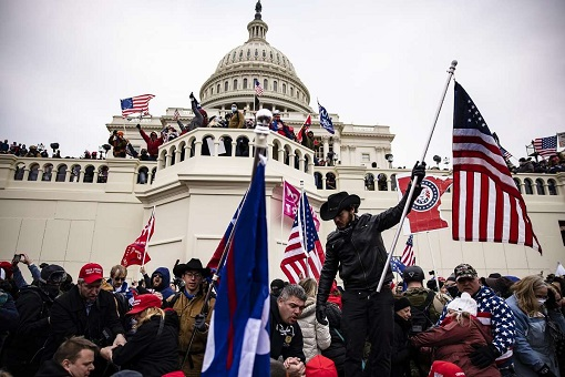 US Capitol Riot Photo - Trump Supporters Riot At The Capitol