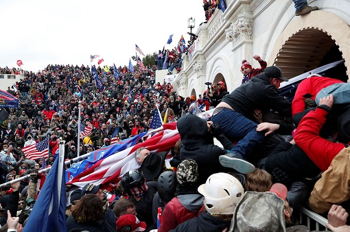 US Capitol Riot Photo - Trump Supporters Storm The Capitol