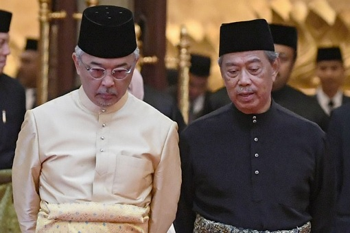 Agong King Sultan Abdullah and Prime Minister Muhyiddin Yassin - Ill-Advised State of Emergency