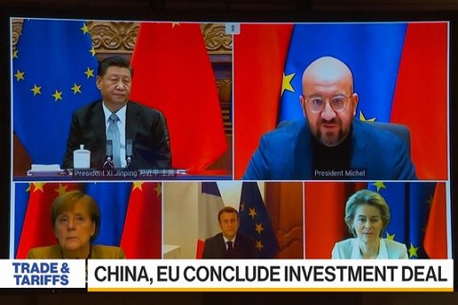 Europe-China Investment Deal - Comprehensive Agreement on Investment CAI