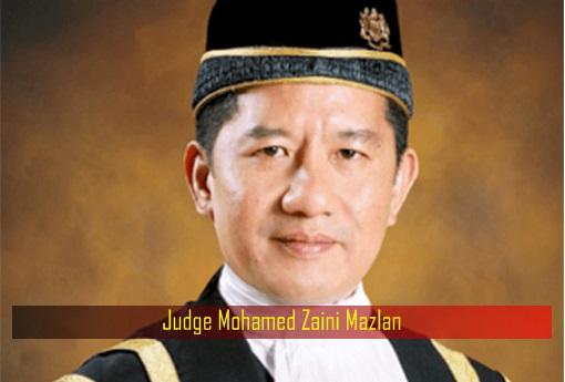 Judge Mohamed Zaini Mazlan