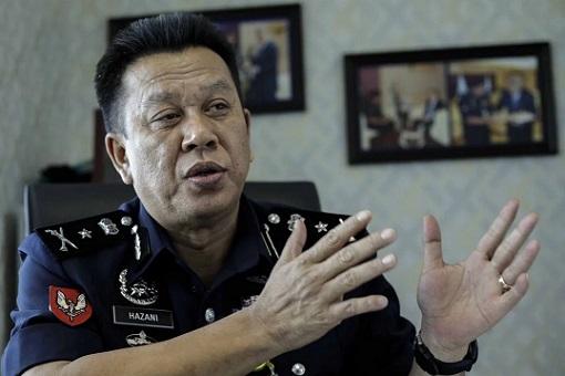 Sabah Police Commissioner Hazani Ghazali