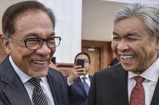 Anwar Ibrahim and Zahid Hamidi