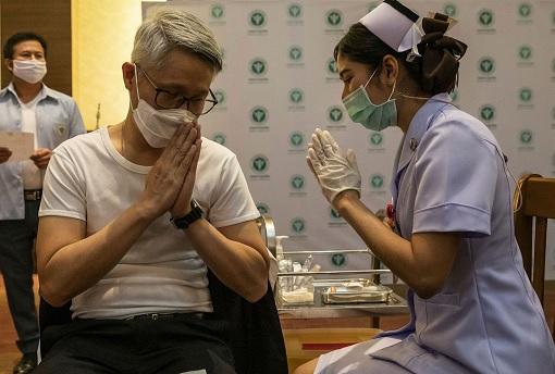 Coronavirus - Thailand Covid-19 Vaccination Programme