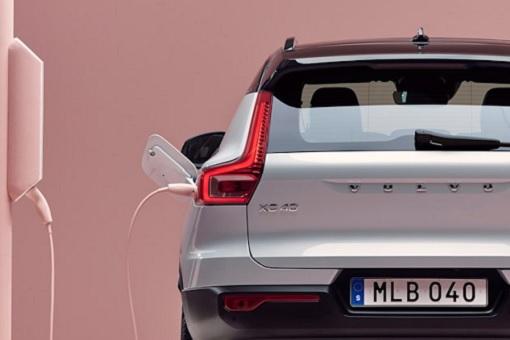 Volvo Electric Car XC40 - Charging