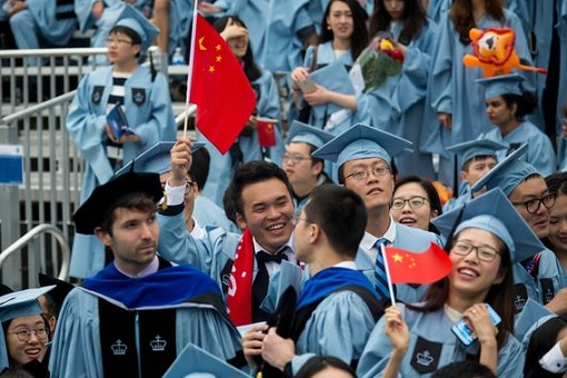 Chinese Students Graduate In US Universities