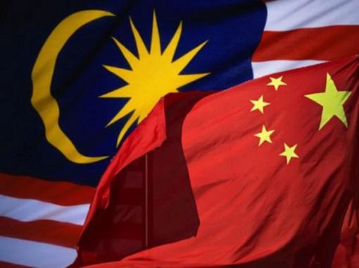 Malaysia-China Flags