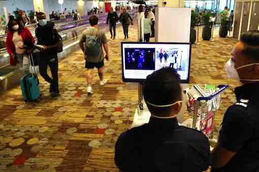 Coronavirus - Changi Airport Screening