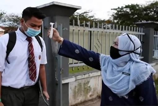 Coronavirus - Secondary School Students Returned To Class