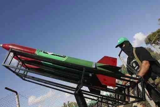 Israel-Hamas-Palestine Conflict War - Hamas Rockets