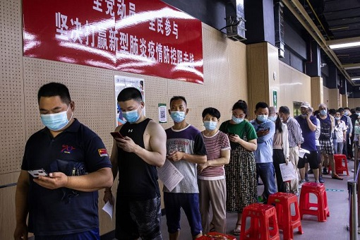 Coronavirus - China Administers 1 Billion Covid-19 Vaccines