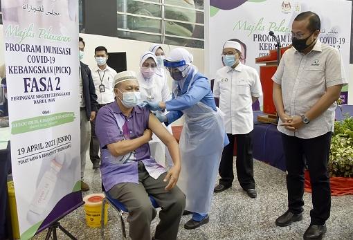 Coronavirus - Malaysia Vaccination Program - Phase 2