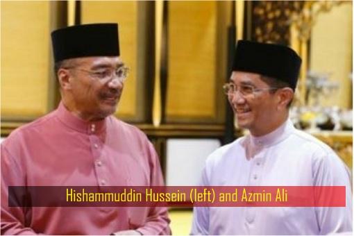 Hishammuddin Hussein and Azmin Ali