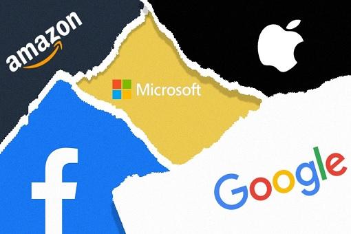 Tech Giants - Google, Amazon, Apple, Facebook and Microsoft