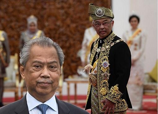 Agong King Sultan Abdullah vs PM Muhyiddin Yassin