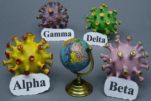 Coronavirus - Alpha, Beta, Gamma, Delta