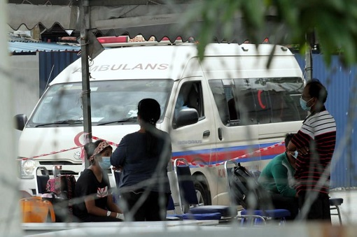 Coronavirus - Malaysia Covid-19 Shortage Of Ambulance