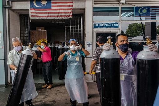 Coronavirus - Malaysia Covid-19 Shortage Of Oxygen